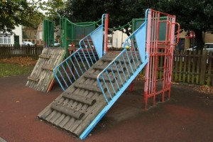 Antiquated climbing frame, Mark Soanes, Wanstead Guardian