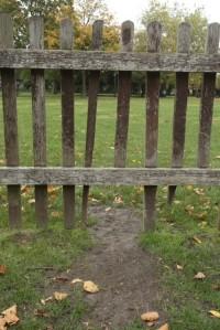 Broken fence, Mark Soanes, Wanstead Guardian
